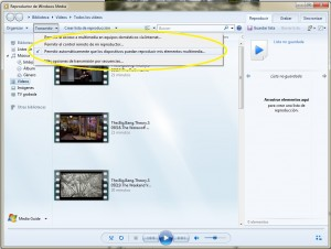 DLNA en Windows 7