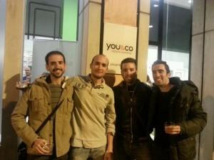@pablesite, @vcgs_net, @jrbelandor y @nicolasmarin en @IronBloggerES